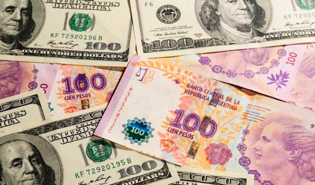 dolares pesos blue